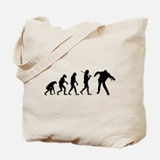 The Evolution Of Zombies Tote Bag