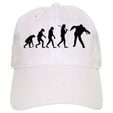 The Evolution Of Zombies Baseball Cap