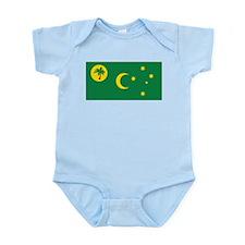 Cocos (Keeling) Flag Infant Bodysuit