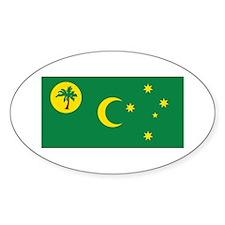 Cocos (Keeling) Flag Decal
