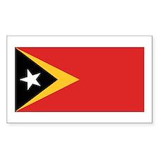East Timor Flag Decal