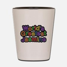 Worlds Greatest Jasmine Shot Glass