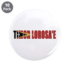 "East Timor 3.5"" Button (10 pack)"
