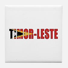 East Timor (Port.) Tile Coaster