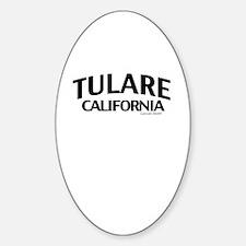 Tulare Sticker (Oval)