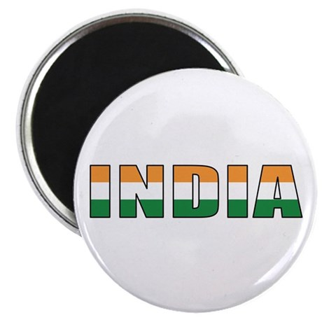 "India 2.25"" Magnet (10 pack)"
