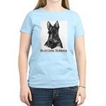 Scottish Terrier Breed Women's Pink T-Shirt