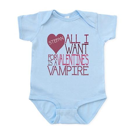 Stefan Valentine Infant Bodysuit