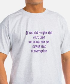 Quality Control do it right T-Shirt
