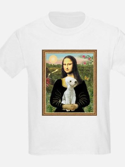 Mona & her Bedlington Kids T-Shirt