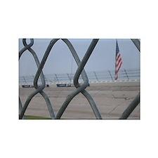 Unique Fence Rectangle Magnet