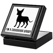 i'm a chihuahua daddy Keepsake Box