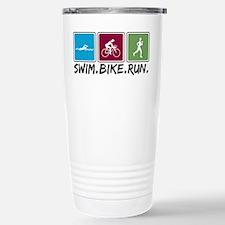 Swim Bike Run Travel Mug