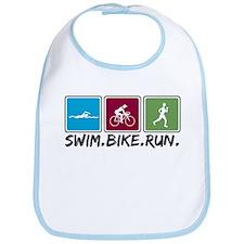 Swim Bike Run Bib