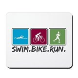 Triathlon ironman Classic Mousepad