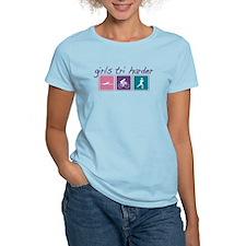 Girls Tri Harder T-Shirt