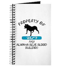 Alapaha Blue Blood Bulldog Journal