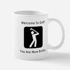 Golf Broke. Mug