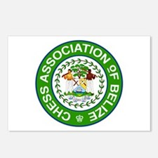 Chess Association of Belize Postcards (Package of