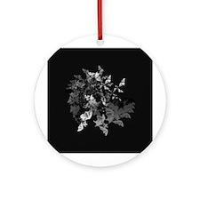 Fibonacci Bats Ornament (Round)