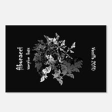 Fibonacci Bats Postcards (Package of 8)