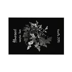 Fibonacci Bats Rectangle Magnet