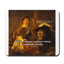 Art & Atmosphere Rembrandt Mousepad