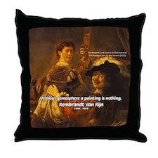 Art & Atmosphere Rembrandt Throw Pillow