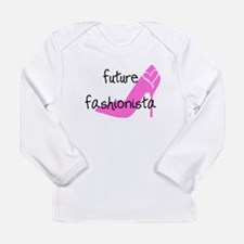 future fashionista Long Sleeve Infant T-Shirt
