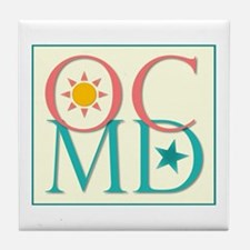 Ocean City, MD Tile Coaster