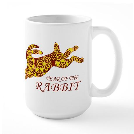 Chinese New Year of the Rabbit Large Mug