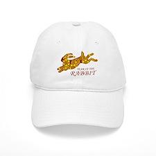 Chinese New Year of the Rabbit Baseball Cap