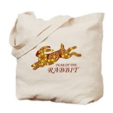 Chinese New Year of the Rabbit Tote Bag