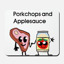 Pork Chop and Applesauce Mousepad