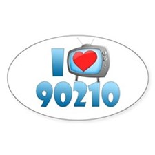 I Heart 90210 Decal