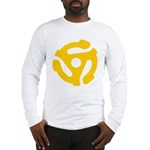 45 record center Long Sleeve T-Shirt