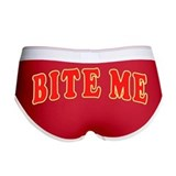 Bite me underwear Ladies Boy Shorts