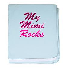 My Mimi Rocks baby blanket