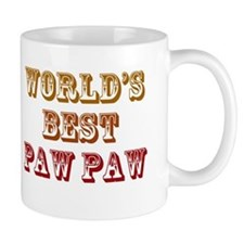 World's Best Paw Paw Mug