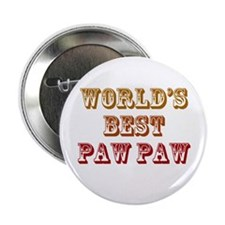 "World's Best Paw Paw 2.25"" Button"