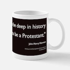 """Deep in history..."" Mug"