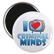I Heart Criminal Minds Magnet