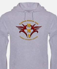 MMA Logo 2 - Gold Red - Hoodie