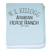 Arabian Horse Kellogg Ranch baby blanket