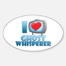 I Heart Ghost Whisperer Decal