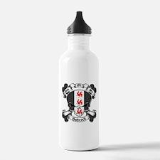 Babcock Family Crest Skull Water Bottle