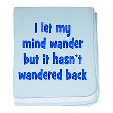 Wandering Mind baby blanket