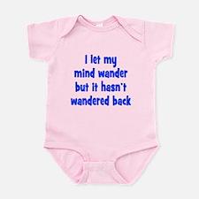 Wandering Mind Infant Bodysuit