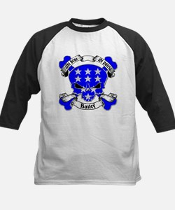 Bailey Family Crest Skull Tee