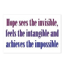 Impossible Hope Postcards (Package of 8)